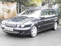 Jaguar X-TYPE 2.5 V6 Auto 2006 SE, Estate, AWD, FSH, 6 Months AA Warranty