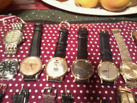 ASSORTED QUALITY - VINTAGE  -  WRIST WATCHES 1925 TO 1965