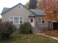 2 bedroom main floor of a home in a great southward location