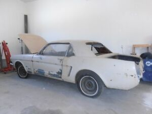 1965 Ford Mustang Coupé (2 portes)