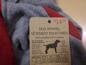 Licensed Dog Shirts & Coats London Ontario image 4