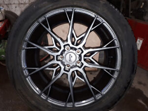 20in INCH PACKAGE 114.3 bolt pattern. 255/50ZR20 TIRES $1500