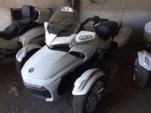 2016 Can Am Spyder F3-Ltd 1330 Triple / White