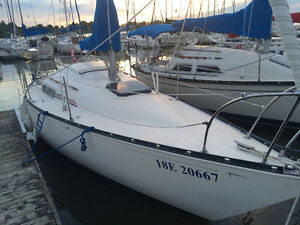 C&C 25 (Voilier) Sailboat, 6,399$ if sold before December! West Island Greater Montréal image 1