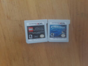 3ds pirates of the Caribbean and steeldiver