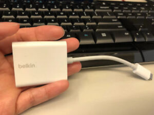 Macbook USB-C to VGA Cable