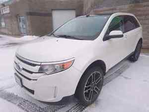 2014 Ford EDGE SEL AWD with Sport package Nav and leather/suade