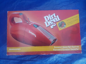 Dirt Devil Scorpion