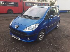 2006 PEUGEOT 1007 DOLCE 1.4 MANUAL