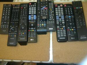 NO E-MAILS  TV /BD REMOTES new models 5$ each