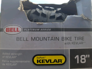 """Bell Platinum Series 18"""" mountain bike tire with Kevlar"""