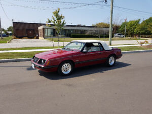 1983 Ford Mustang 2DR Convertible