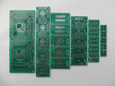 30pcs Pcb Board Kit Smd To Dip Adapter Converter Fqfp32-100 Qfn48 Sop8 16 24 28