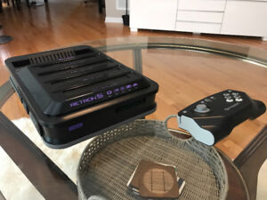 Retron 5 console with controller