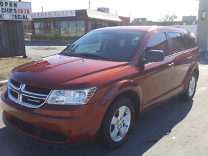 DODGE JOURNEY 2013 SEVEN SEATS WITH DVD