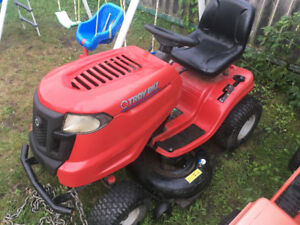 Like new Troy built riding mower