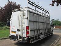 2008 Iveco Seddon Daily 35S14 LWB HIGH ROOF GLASS WINDOW RACK CARRIER VAN. PX