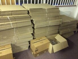 Cardboard Strong Boxes House Clearance Moving Removal Packing Double wall More than 20 available