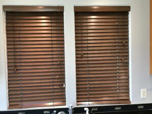 3 Wood Blinds