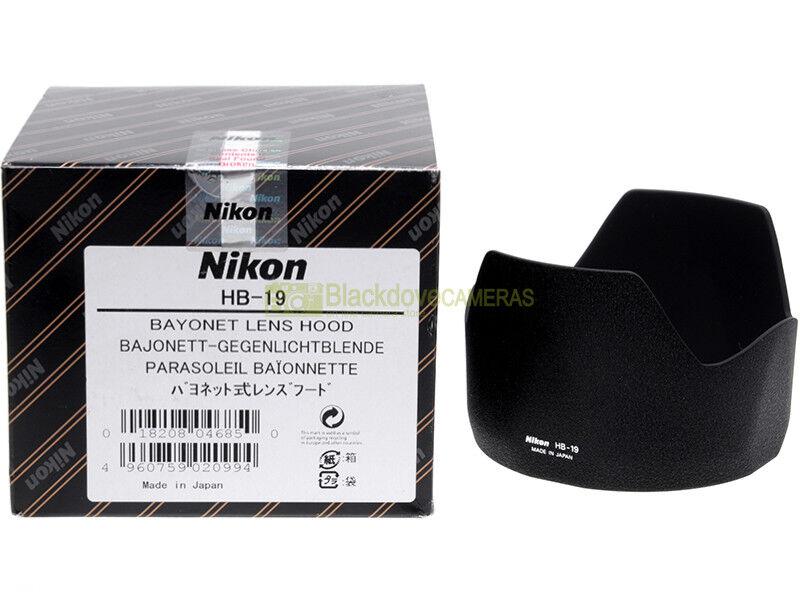 Nikon paraluce HB-19 x obiettivo Nikkor AF-S 28/70mm. f2,8. Nuovo. Originale.