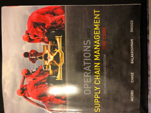 Operations and Supply Chain Management 2nd Canadian Edition