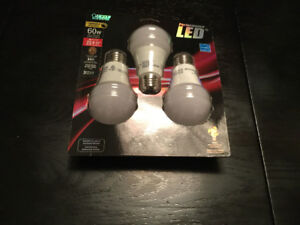 Feit  9.5-Watt LED 3 pack light bulb