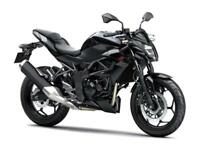 Brand New Kawasaki Z250SL Naked Bike Commuter A2 Ready