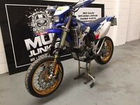 2005 wr 450 enduro supermoto road legal