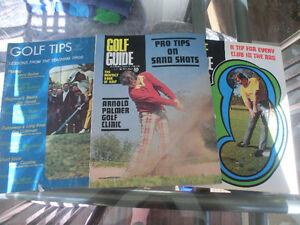 Vintage Golf Instructional Magazines- 3 for $9