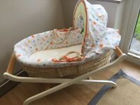 Mothercare Moses Basket and Base