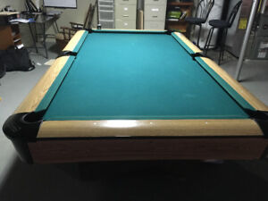 Pool table , ping pong insert , cues and balls for sale