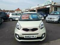 2012 Kia Picanto 1.25 Halo Automatic 3-Door From £5,595 + Retail Package HATCHBA
