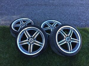 "19"" ASA  rims  great condition."