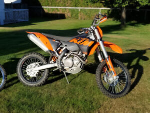 2009 KTM 450 XCW For Sale.