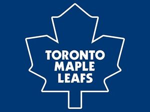 Toronto Maple Leaf Tickets - Various Games