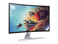 Stunning Samsung 27 inch Curved LED Monitor model: SD590