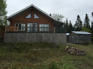 Chalet Grand lac Bostonnais Kisskisin