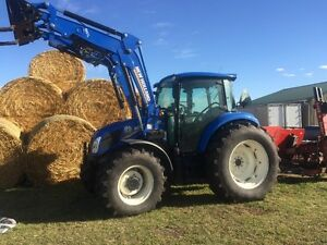 New Holland T4,105HP FWA Tractor