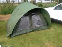 Bivvy and bedchair
