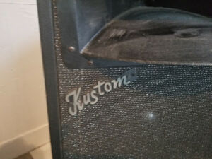 KUSTOM speakers - straight from the 80's