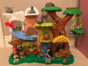 Fisher Price Little People Zoo Talkers Nearly Complete Set