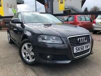 2008 Audi A3 1.6 Petrol S-Tronic Auto ** Paddle Sift Auto Clutch ** Parking Aid