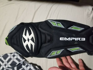 Empire Grind knee and shin pads