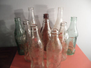 VINTAGE BOTTLE COLLECTION    +++COKE+++   AND MORE