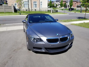 2008 BMW M6 WITH 6 SPEED MANUAL TRANSMISSION