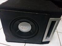 "JBL 10"" 1000W Sub in Ported Box"