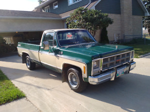 1979 GMC 1/2 ton safetied