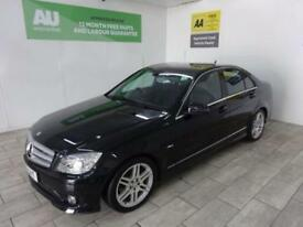 BLACK MERCEDES-BENZ C CLASS 2.1 C200 CDI BLUEEFFICIENCY SPORT **from £191 p/m **