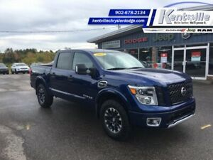 2017 Nissan Titan PRO-4X  - Navigation -  Heated Seats