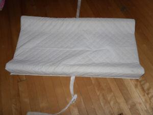 matelas pour table a langer blanc